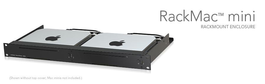 Sonnet Technology Rack Mac Mini