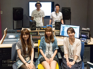名古屋テレビ映像技術部 林和喜氏と現場を努められている 東海サウンドの皆さん