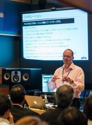 Avid APAC Director of Sales(Audio) チャールズ・テタズ 氏