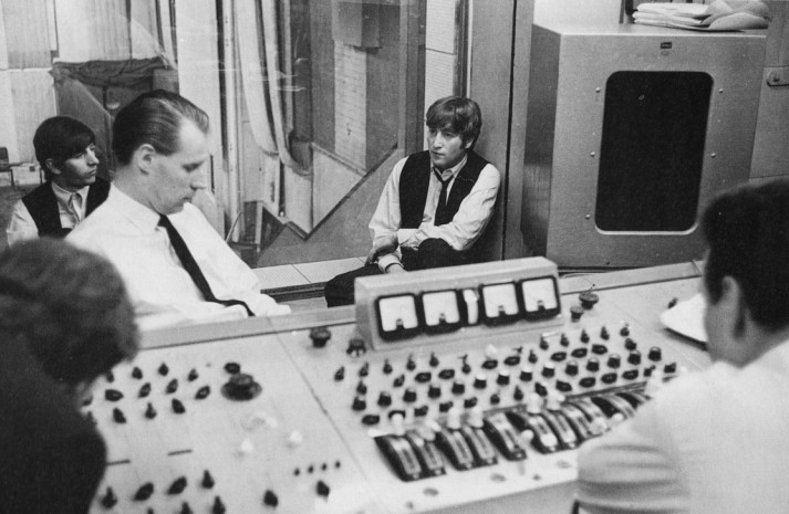 「beatles in emi studio 1964」の画像検索結果