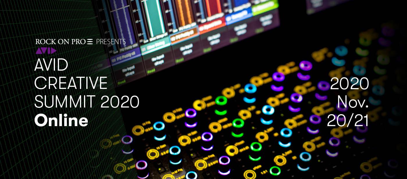 Avid Creative Summit 2020 Online 開催